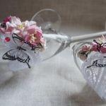 Бокалы «Розовый сад»