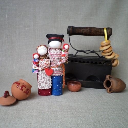 Народная кукла «Неразлучники»