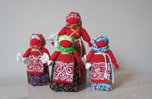 Кукла «Пасхальная семья»