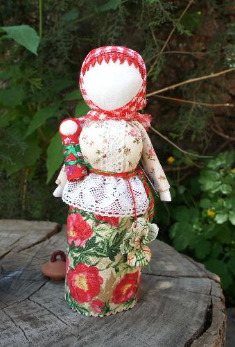 Народная кукла «Берегиня дома »         а
