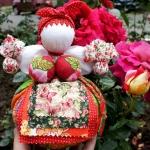 Народная кукла Кубышка-травница