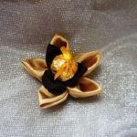 Бонбоньерка «Золотой цветок»