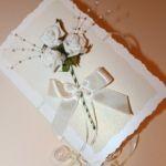 приглашение с розами