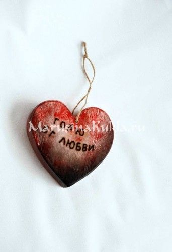сердце сувенир №9