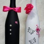Оформление бутылки