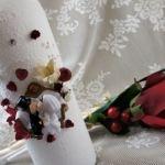 Оформление бутылки «Жених и невеста»
